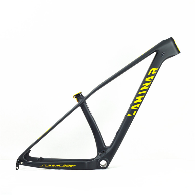 LAMINAR SUMMIT Bicycle MTB New High Steel Carbon Fiber Mountain Bike Frame 29 Inches Compatible With 27.5 Inches Barrel Shaft