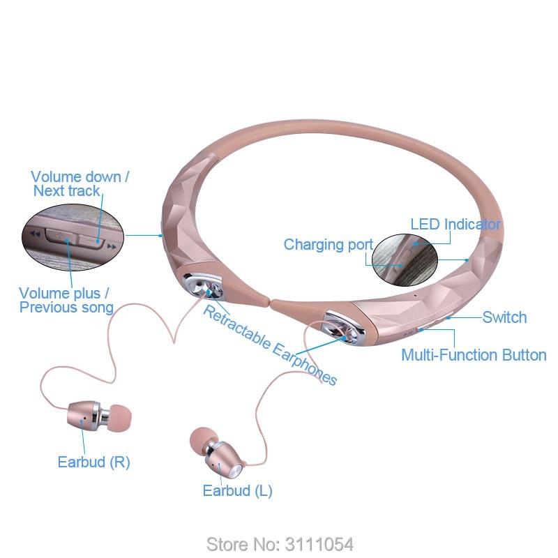 2017 վաճառքի ականջակալներ նոր Bluetooth - Դյուրակիր աուդիո և վիդեո - Լուսանկար 4