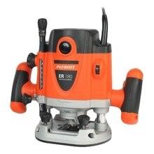 Фрезер электрический PATRIOT ER 180 (Мощность 1600 Вт, Скорость вращения от 8000 до 23500 об/мин, Максимальный диаметр фрезы 40 мм, Обрезиненная рукоятка, защитный кожух )