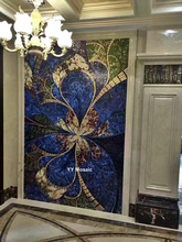Italien Design Stil Kunstwand Mosaik Wand Schimmer Eis Jade Glas Fliesen Fr Bad Dusche Wohnzimmer Decke