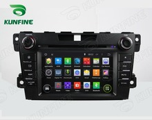Quad Core 1024*600 Android 5.1 Car DVD GPS Navigation Player for MAZDA CX-7 2012 GPS Radio steering wheel control with Remote