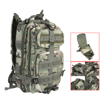 30L Outdoor Sport Military Tactical Backpack Rucksacks Camping Hiking Trekking Bag CP Camouflage