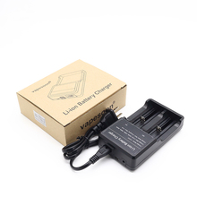 3pcs 100% Original vapesoon Vape Li-ion Battery 2 Slots Charger 3.7V fit for 18650 26650 18350 32650 10440 14500 18490 Battery