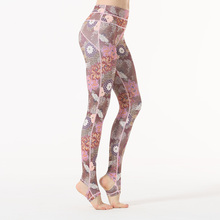 Women Sexy Yoga Pants Printed Dry Fit Sport Pants Elastic Fitness Gym Pants Workout Running Tight Sport Leggings Female Trousers недорого