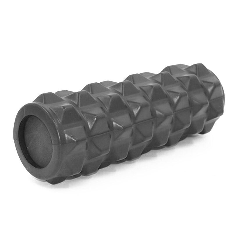Yoga Solid Foam Roller Training Colume Rollor Fitness Deep Tissue Massage Exercise Pilates Body Building Back Massager 33*12CM