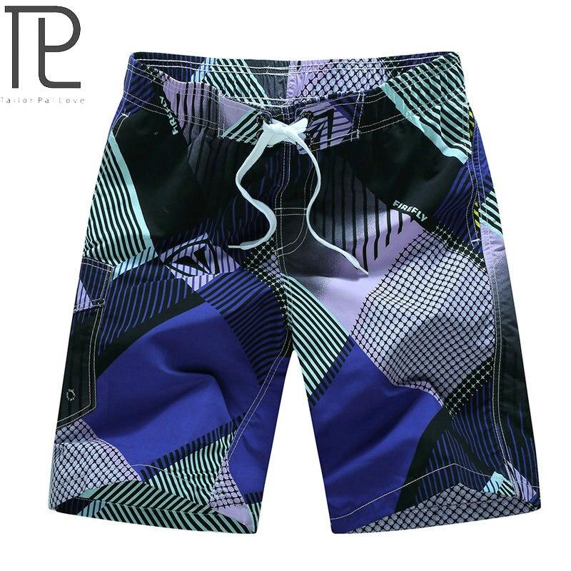 Tailor Pal Love Beach Shorts Men 2018 Summer Quaick Dry Mens Board Shorts