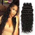 Mongolian Water Wave Virgin Hair Meches Bresilienne Lots 4 Bundles Human Hair Weave Bundles Mongolian Virgin Hair Ocean Wave
