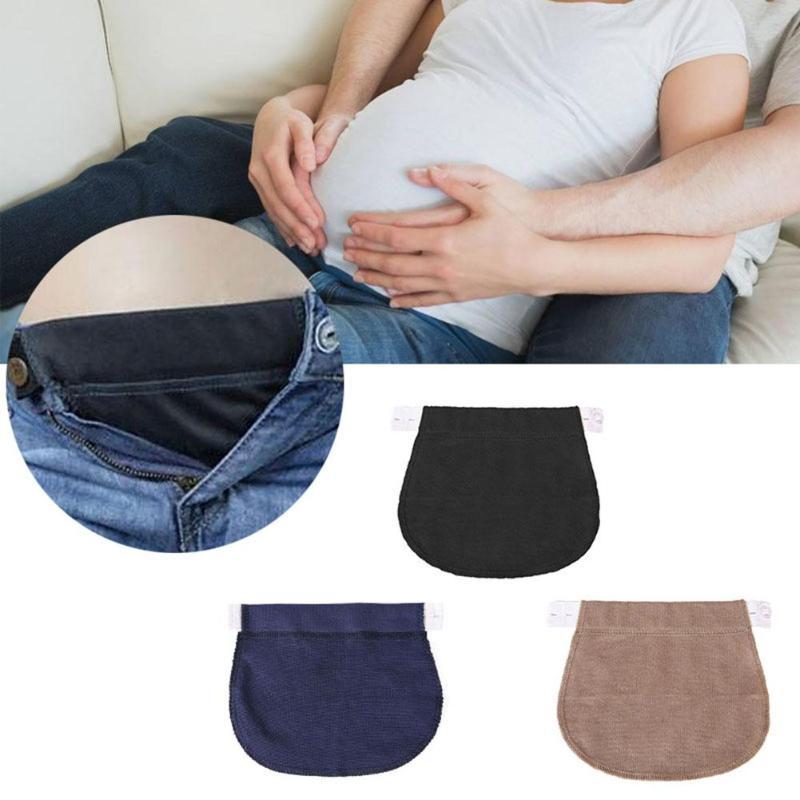 Cinturon Elastico Adaptador Para Pretina De Pantalon Durante El Embarazo Ebay