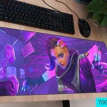 OW mouse pad 700x300X3MM mouse mats laptop padmouse Adorable notbook