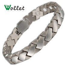 2014 new product aliexpress zircon wedding slash men pure copper magnetic health bracelet