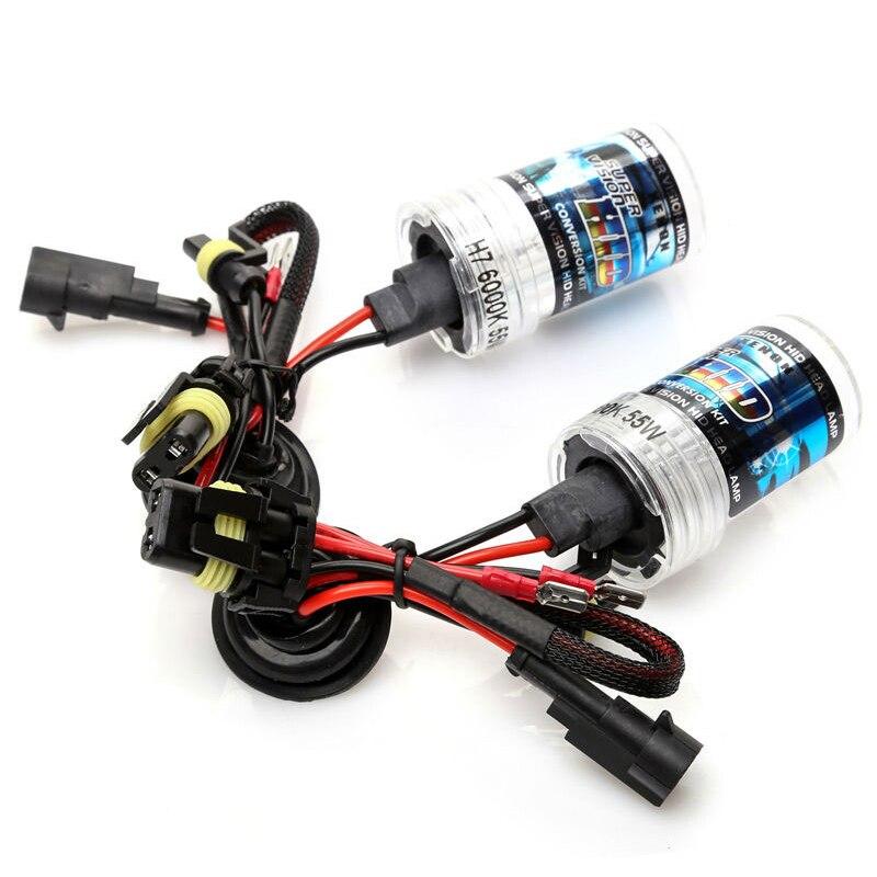 12v 55w kit xenón H7 H1 H3 H4 H11 H8 H9 H11 HB3 HB4 9005 9006 881 - Luces del coche - foto 3