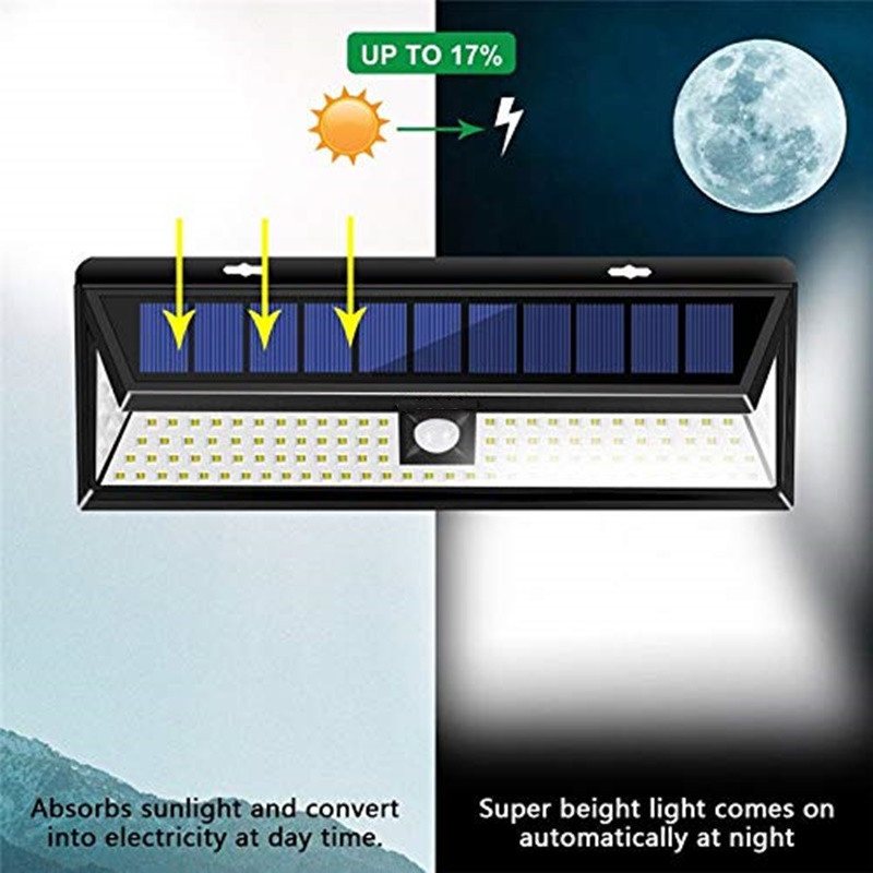 solar motion security light