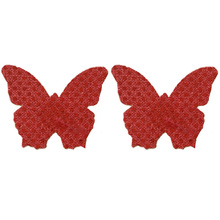 Women Sexy Nipple Covers Self Adhesive Pasties Butterfly Breast Sticker Sequins Cubre Pezon Disposable Cover