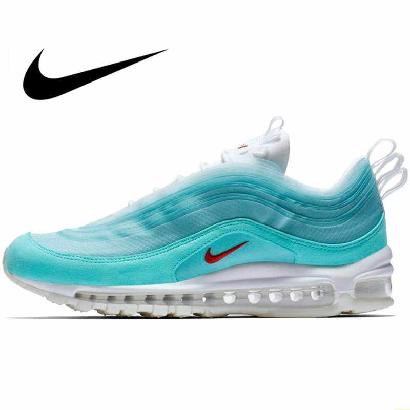 Оригинальный подлинный 2019 новый Nike Air Max 97 SH Kaleidoscope Мужская Спортивная обувь для бега легкие уличные кроссовки CI1508-400