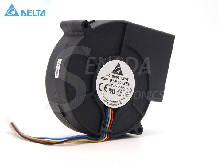 Delta BFB1012EH PWM gebläse 1U 2U server gewidmet turbofan 9733 97x97x33mm 9,7 cm 12 v 2.94A