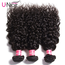 Unice Hair Malaysian Water Wave Hair Weave Bundles 3 PCS 8-2