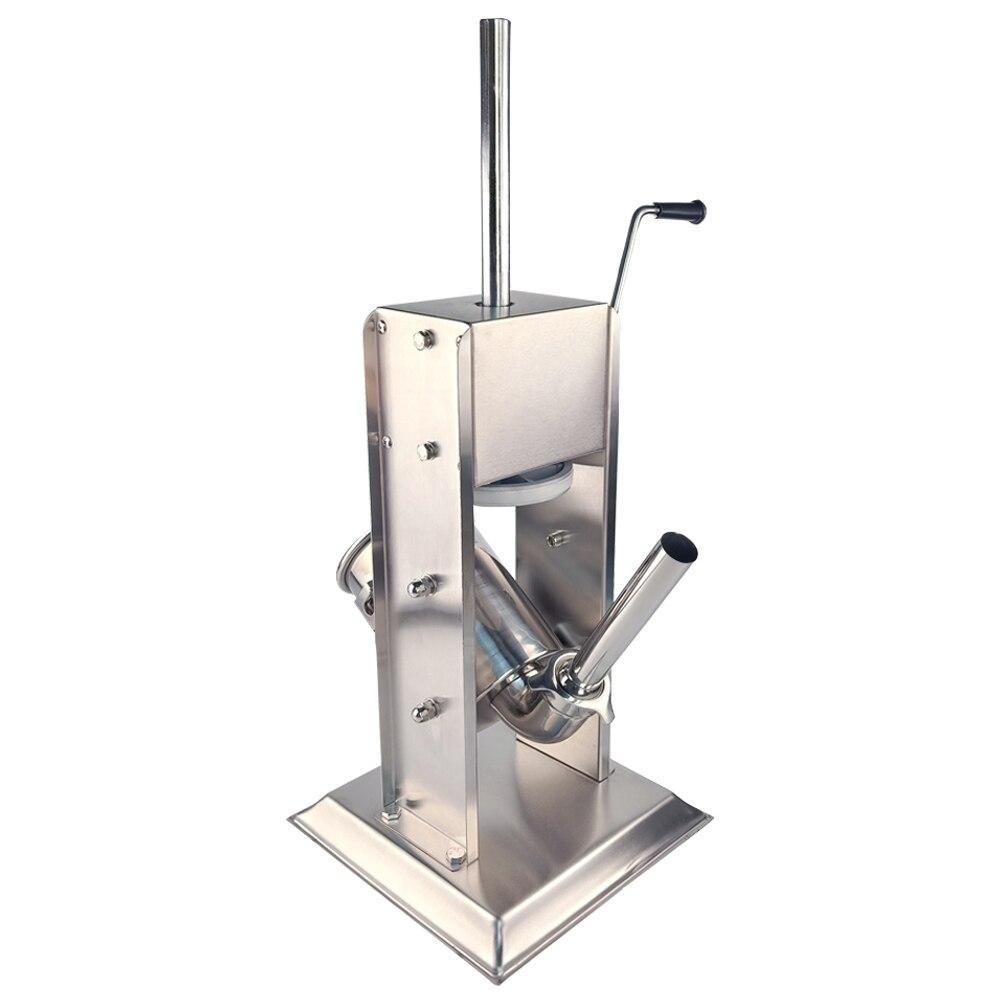 الرأسي ماكينة تعبئة النقانق الفولاذ المقاوم للصدأ السجق ستوفير حشو المنزلية ماكينة تعبئة النقانق للمطبخ-في حشوات من المنزل والحديقة على  مجموعة 1