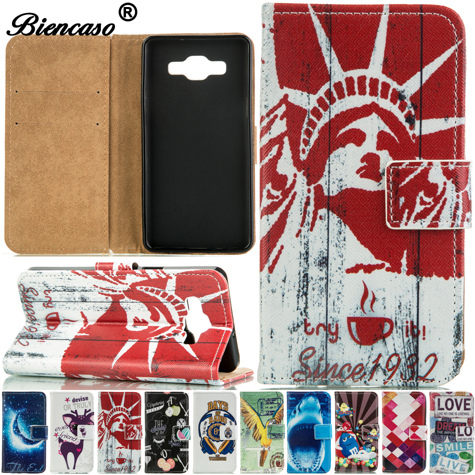 Wallet PU Leather <font><b>Case</b></font> For <font><b>Samsung</b></font> Galaxy A5 2014 SM-A500F A5000 Flip Cover <font><b>Cases</b></font> <font><b>A500FU</b></font> A500M A500Y A500YZ A500F1 A500FQ B00 image