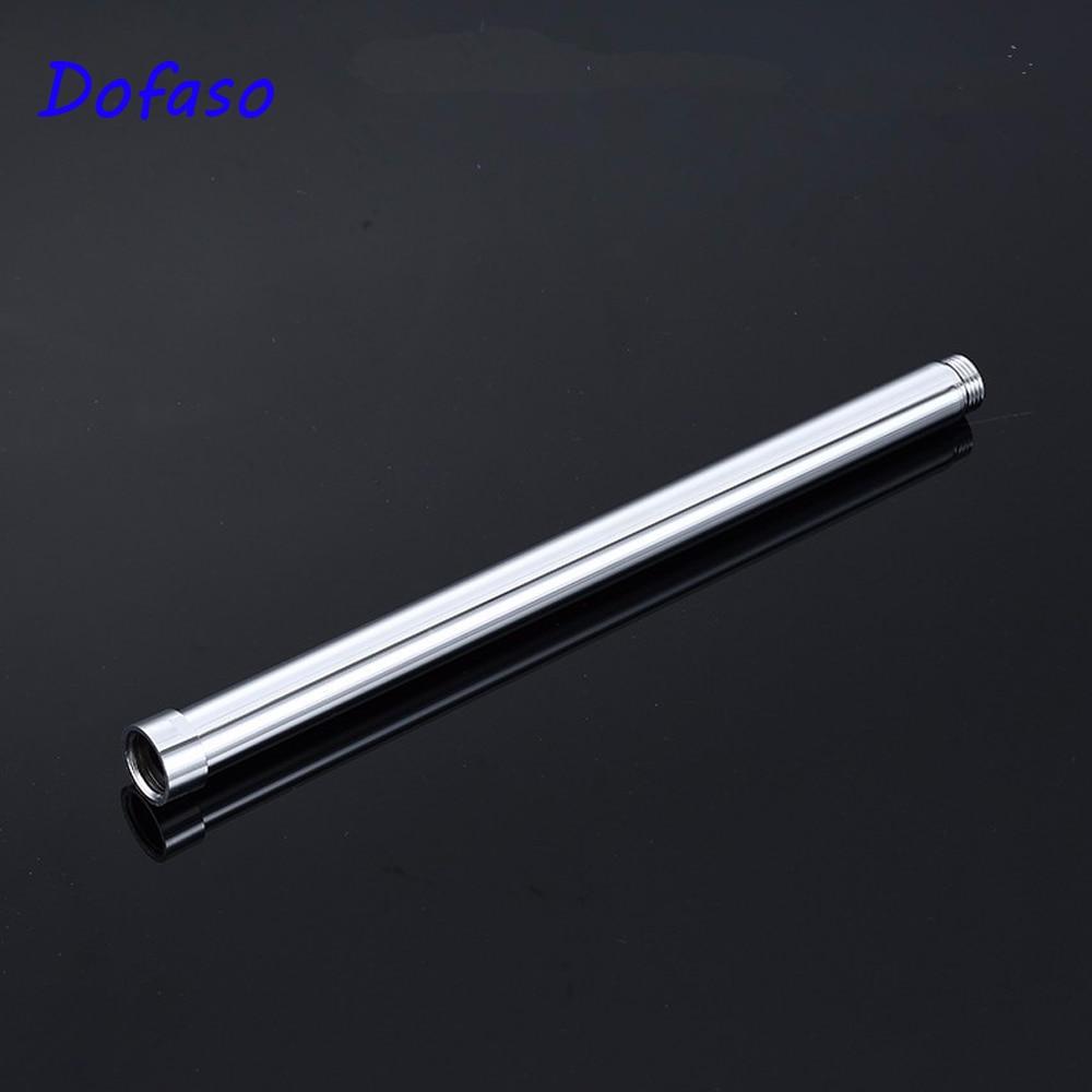 Dofaso 30cm Shower Slide Bars Stainless Steel Lifting Pipe Sliding Bar Shower Extension Tube Bathroom Accessories 25mm