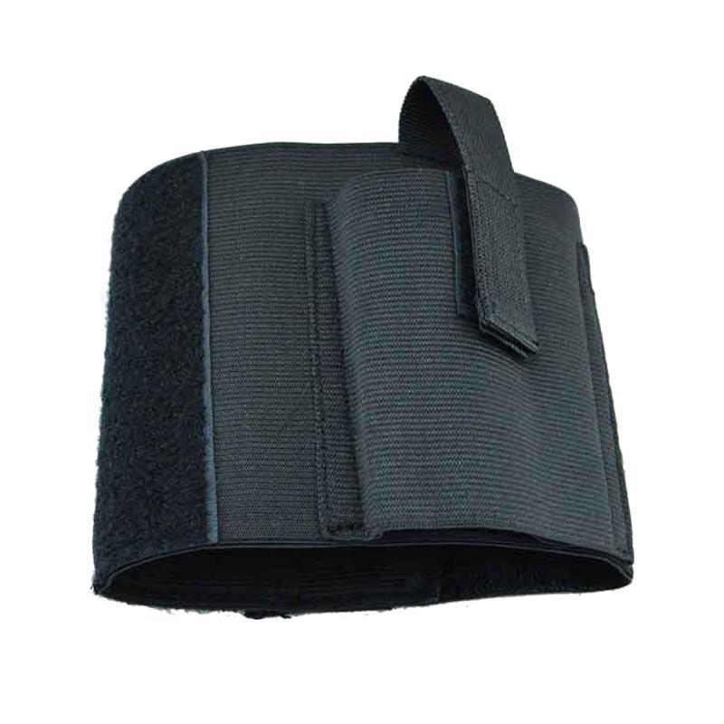 Deportes al aire libre Caza Oculta Universal Elástica Carry Negro Tobillo de La
