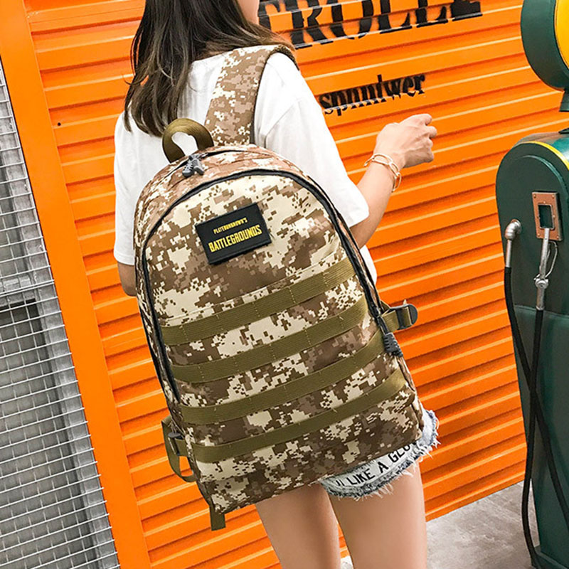 Men PUBG Backpack Multifunction Waterproof Teenage School USB Charging Backpacks Women Travel Level 3 Bag Boys Mochila BP0247 (17)