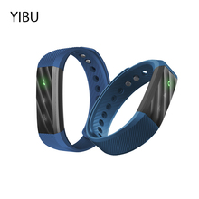 Yibu Bluetooth 4.0 браслеты Смарт Группа Спорт SmartBand браслет с шаг фитнес-трекер будильник для iPhone Android