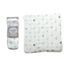 Baby muslin blankets 100% Cotton print infant baby Swaddle Wrap Bath Towel Bedding Cover for baby