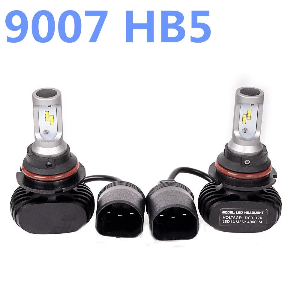 9007 HB5 Led Headlight Hi-Lo Beam Car Led Headllamp HL CSP Bulb 6500K 50W 8000LM Autos Lights Lamp For PHILIPS Chip Automoveis we hi capa 5 1 type k в санкт петербурге