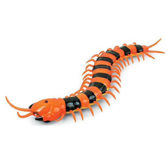 Electric Remote Control Simulation Centipede IR Centipede Electric Insect Realistic Animal Tricky Funny Toy Educational Toys