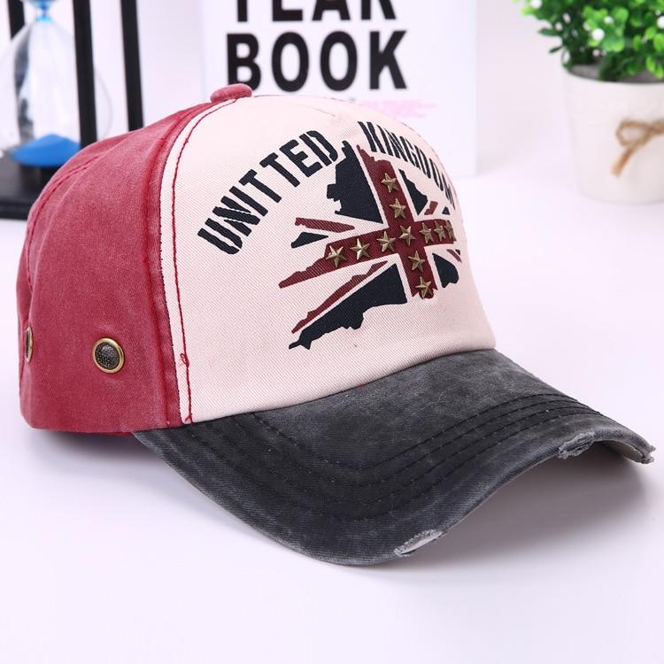 Moda retro cinco estrellas gorra de béisbol algodón gorras CAPS moto  molienda hacer viejo sombreros para los hombres y las mujeres casquette   70047 0592bc6bcdc