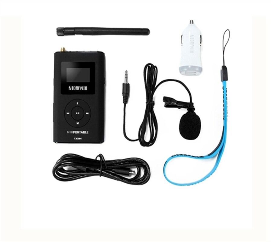 O Envio gratuito de 0.3 W Embutida 1000mA NIO-T300M Transmissor Sem Fio para Atender Mercado de Fábrica de Alta Capacidade