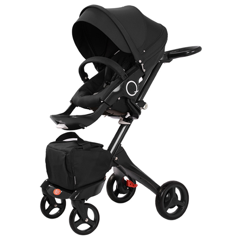 Black Frame will  Arrived in mid-October Luxury Baby Stroller With Umbrella Fold 2 In 1 Stroller Baby Pram presidential nominee will address a gathering