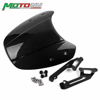 Carbon Motorcycle Front Windscreen Windshield Shield Screen Protection For Ducati Scrambler 2015 2016 2017 2018 - DISCOUNT ITEM  8% OFF All Category