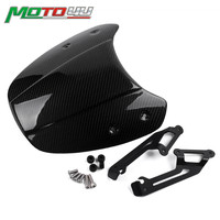 Carbon Motorcycle Front Windscreen Windshield Shield Screen Protection For Ducati Scrambler 2015 2016 2017 2018