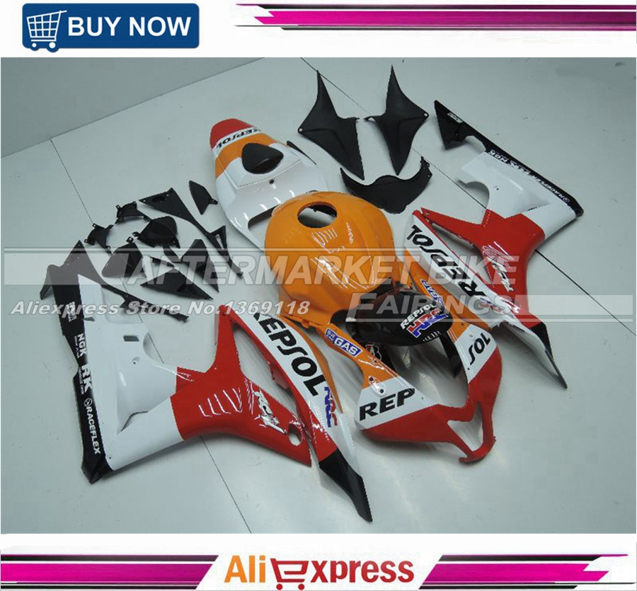 INJECTION MOLD  New Repsol Fairings for HONDA CBR600 RR 2007 2008 ABS Plastic Fairing CBR600RR 07 08 Bodywork Kit new injection plastic mold for vehicle portable heater case china supplier