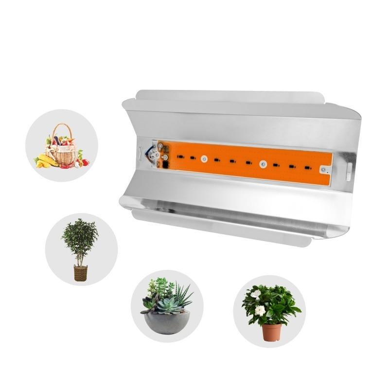 80W 50W 30W LED Grow Lamp Light Bead COB Spotlight 220V Full Spectrum Plant Lighting For Indoor Greenhouse Plants Flower Growth