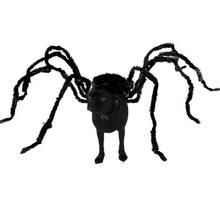 Забавный Хэллоуин костюм для домашних животных собака шутка кошка аксессуары черный паук шалость страшная Опора ужавечерние с Вечеринка злодей ошибка террор животные DIY