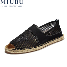 MIUBU New Slipony Men Fashion Sneakers Flats Casual Shoes Breathable Canvas Nice Comfortable Mens Loafers