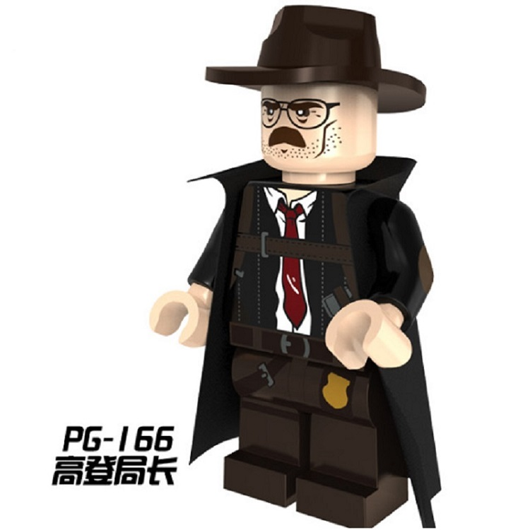 Building Blocks Commissioner Gord in plainclothe Penguin Harley Quinn Batman Super Heroes Bricks Model Toys for children PG166 пинетки митенки blue penguin puku