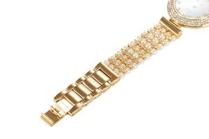 Image 3 - MISSFOX טבע פרל שעון נשים מפורסם מותג נירוסטה בחזרה מים עמיד זהב שעון קוורץ יהלומי שעון נשים