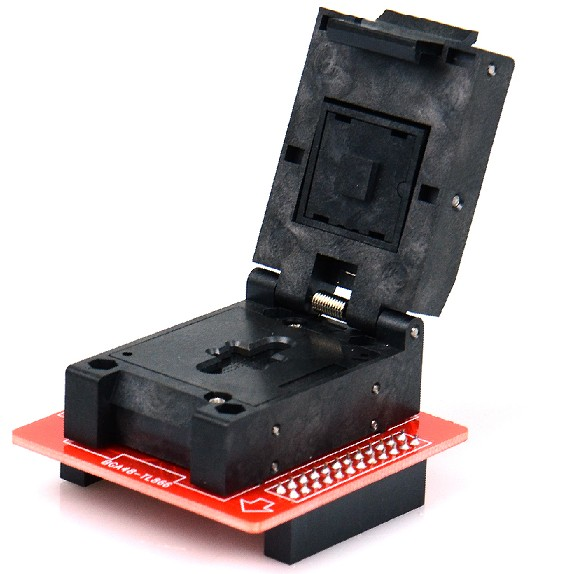 BGA48 Adapter Socket for Minipro TL866II PlBGA48 Adapter Socket for Minipro TL866II Plus TL866CSus TL866CS <font><b>TL866A</b></font> <font><b>USB</b></font> Programmer image
