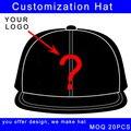 Logotipo personalizado moda 4 painéis tampão do camionista personalizado chapéu de beisebol ajustável encerramento baixo moq