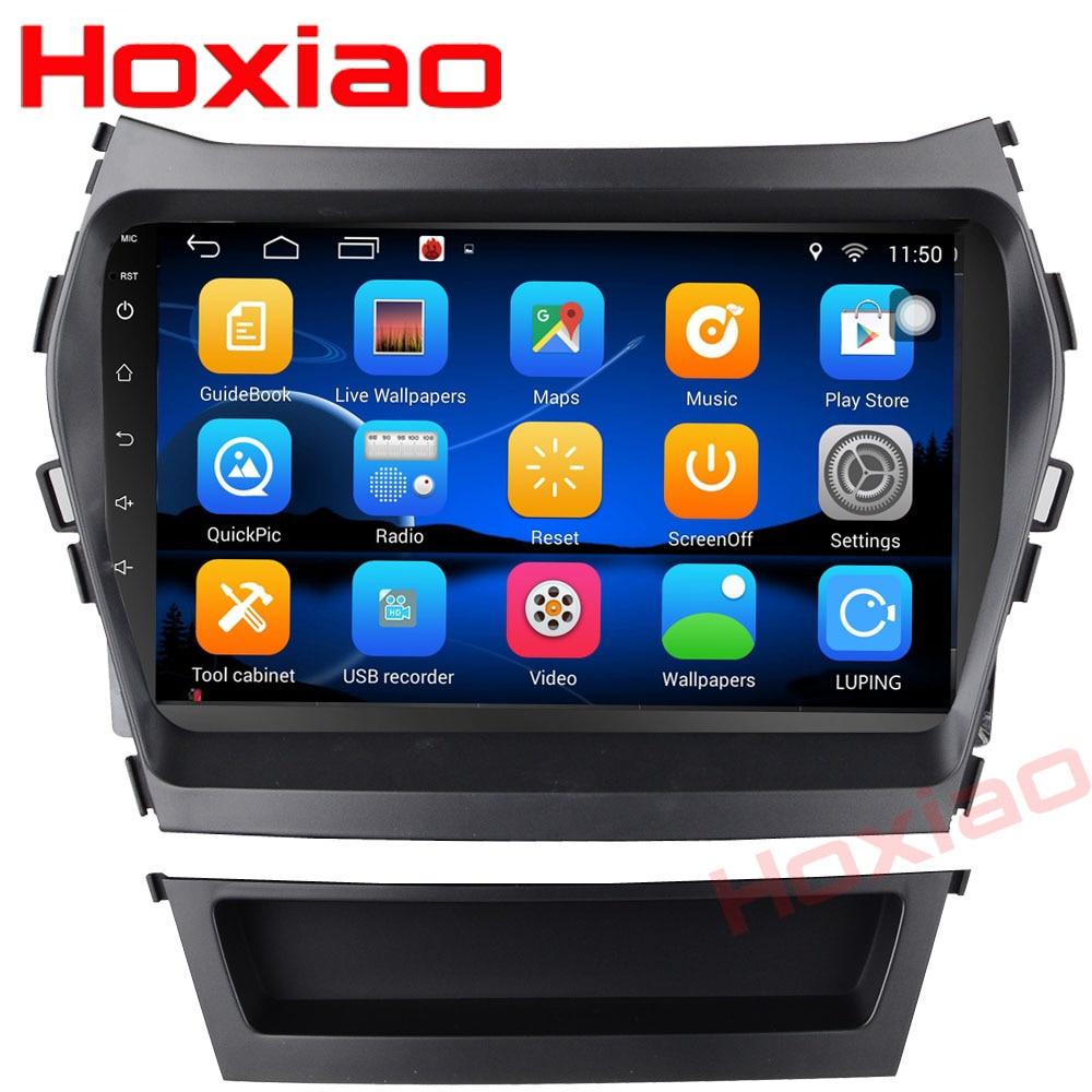 2 32 Android Car dvd gps player For HYUNDAI IX45 2013 SANTA FE santafe Support WIFI
