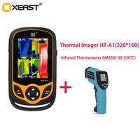 การจัดส่งอย่างรวดเร็วจากมอสโกคลังสินค้า 2019 ขายร้อนจีน Made ราคาถูก Mini Handheld ขอบเขตกล้อง Thermal Imager HT-A1