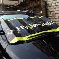 Hypersonic Car Front Window Visor Windshield Sunshade Window Sunshade Aluminum Foils