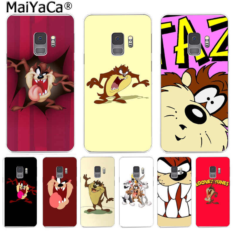 MaiYaCa Looney Tunes Tasmanian Devil Taz Phone Case Soft TPU Cover for Samsung S9 S9 plus S5 S6S6edge S6plus S7 S7edge S8 S8plus