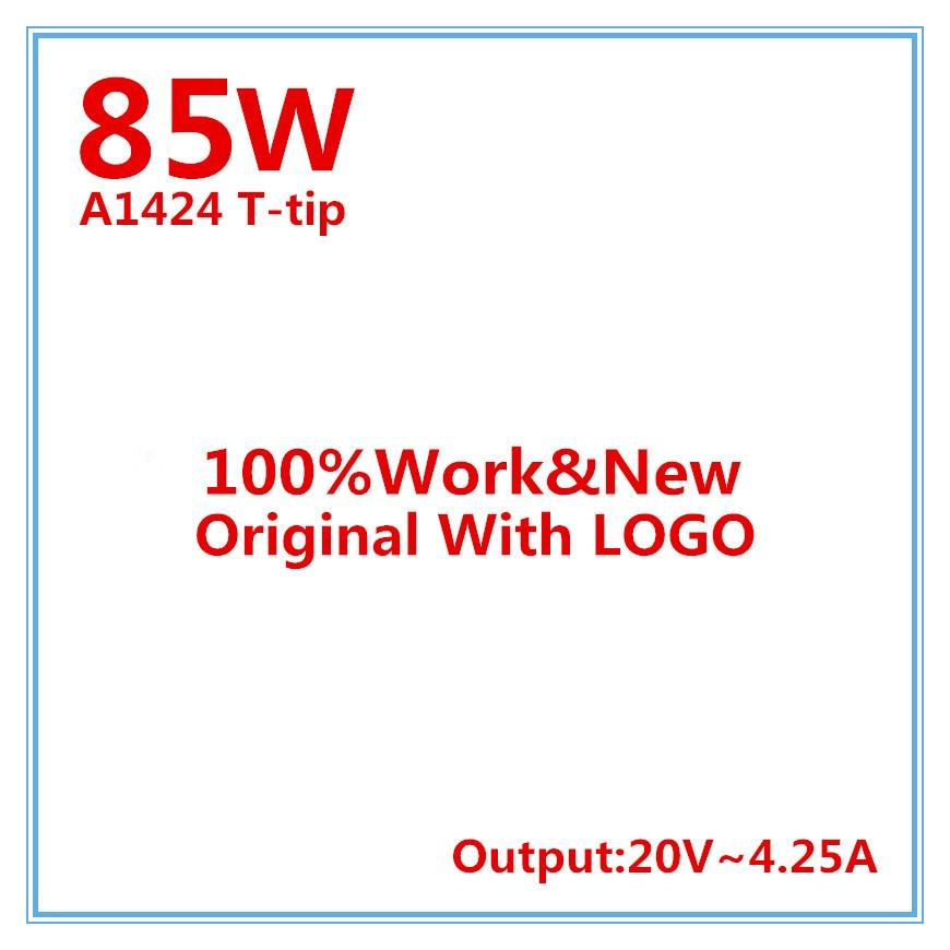 100% de Alta Qualidade Original OEM 2 85 W Laptop Power Adapter Para Apple Macbook Pro Retina 15 ''17 ''A1398 A1424
