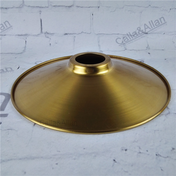 Antique brass finished iron lampshade D220mmX50mm edison ...