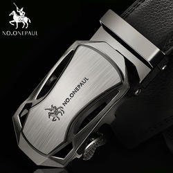 Нет. ONEPAUL люксовый бренд мужской ремень из натуральной кожи Ремни для Для мужчин Одежда высшего качества ремень Автоматическая пряжка
