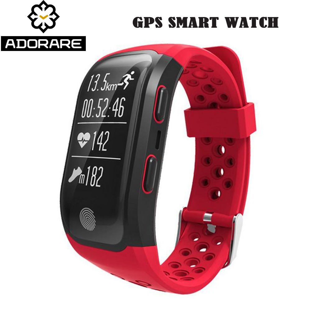 ADORARE S908 GPS Smart Watch Women Men Heart Rate Sleep Monitor Waterproof Wristband relogio Sport Watches for Android iOS gimto smart bracelet men watches sport watch digital waterproof wristband heart rate sleep monitoring for android ios clock men